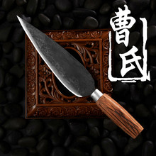 Free Shipping CAO Forged Boning Knife Kitchen Eviscerate Slicing Knife Traditional Clip Steel Chef Cutting Meat Cooking Knife