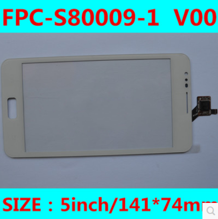 New original 5 inch hot s6102 capacitive touch screen FPC-S80009-1 V00 free shipping