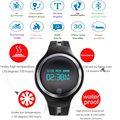 2017 GPS Esportes movimento atividade inteligente bracelet watch Six axis-G-sensor Inteligente Pulseira de rastreamento de fitness para Android iOS E07