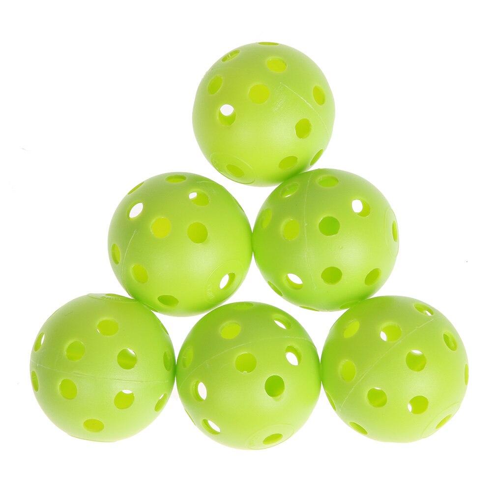 12 шт./лот пластик свистеть airflow мячи для гольфа выдалбливают Fun Спорт На Открытом Воздухе Игры В Гольф Практика учебные мячи developmetal игрушка
