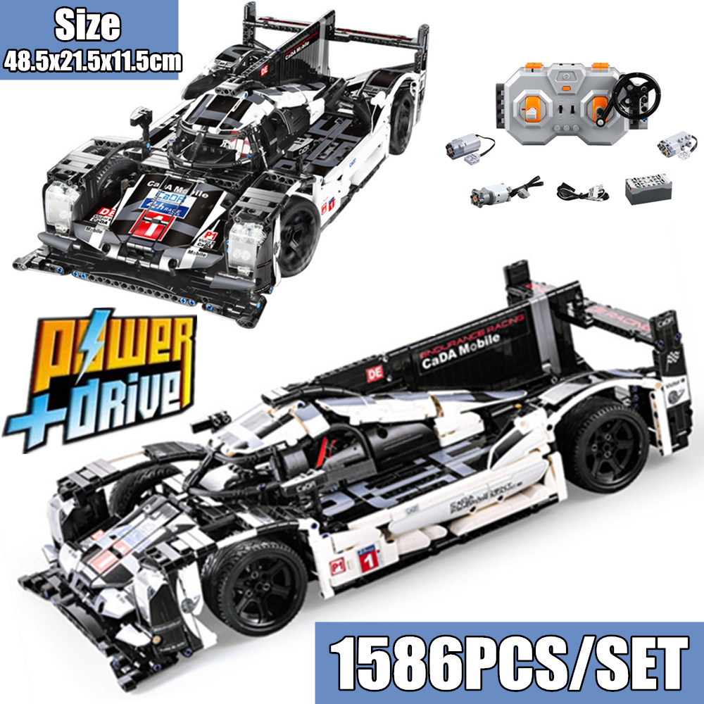 RC Power Function Super Sport Car Speed Champions City Mobile fit legoings Technic 919 Creator Building Block Bricks DIY Toy kidRC Power Function Super Sport Car Speed Champions City Mobile fit legoings Technic 919 Creator Building Block Bricks DIY Toy kid