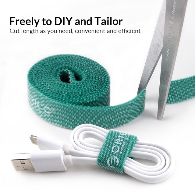 ORICO CBT-5S Cable Manager Cable Winder 5 Pcs Nylon Cable Mark Colorful Ties Label Brand Belting Ribbon Wire Binging Strap Seals