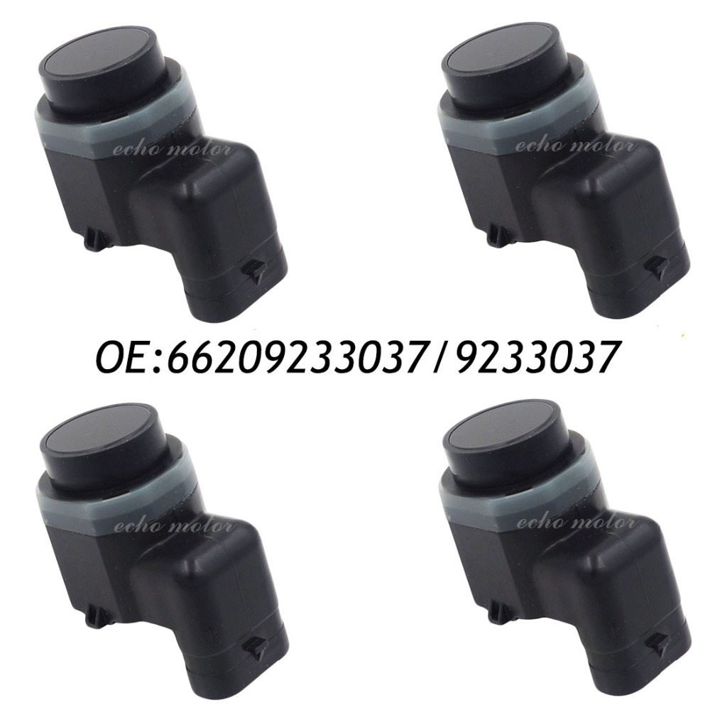 New 4PCS Fits BMW X5 E70 X6 E71 E72 X3 E83N Parking Sensor PDC 66209231287  9231287 66209233037 7dadfd1ed7ad