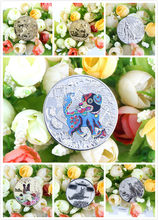 2018 Year Dog Panda Animal Chinese Zodiac Anniversary Souvenir Coin Replica Business Tourism Gift Lucky Character Coin 8 Style(China)