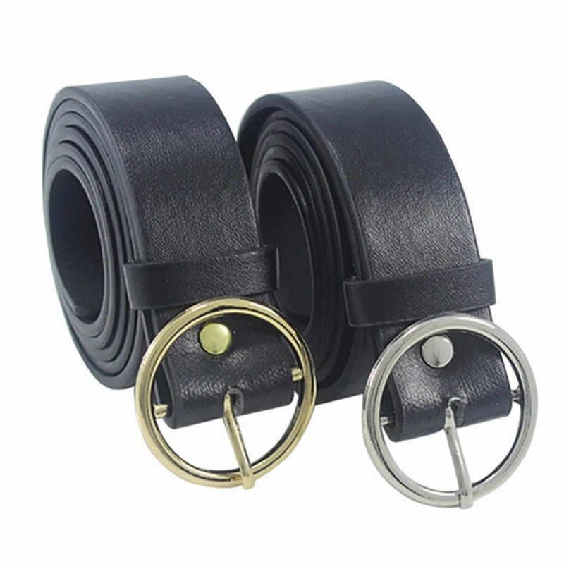 JCAAAP Unisex Runde Metall Kreis Gürtel Heißer Designer Marke Punk O Ring Gürtel