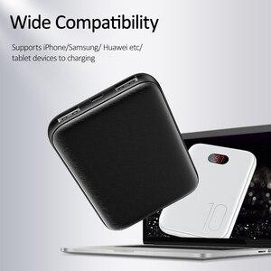 Image 5 - Power Bank Voor Xiaomi Mi Iphone, usams Mini Pover Bank 10000 Mah Led Display Powerbank Externe Batterij Poverbank Snel Opladen
