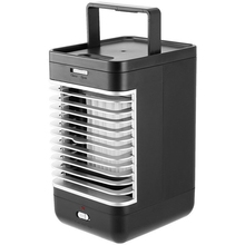 цены на Home Office Mini Air Conditioning Fan Table Air Cooler Conditioner Cooling Fan Humidifier Portable Mini Air Conditioning Equip  в интернет-магазинах