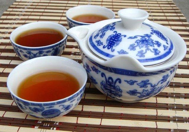 4pcs simple China Tea Set, Porcelain Teaset,Peony design, Free Shipping