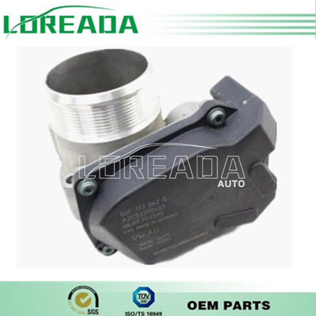 US $88 0 |Brand New Throttle body for Volkswagen Golf Passat Jetta Magotan  1 8 2 0 High Performance 06F133062H 06F 133 062H OEM Quality-in Air Intakes