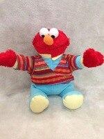 Sesame Street brinquedos de pelúcia brinquedos dos desenhos animados boneca de presente de natal 30 cm elmo brinquedos de pelúcia