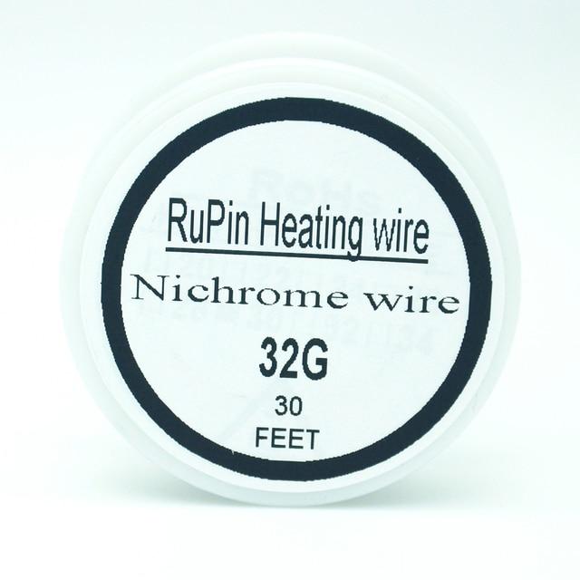 Rupin heating wrie nichrome wire 32 gauge 10 metre 02mm rupin heating wrie nichrome wire 32 gauge 10 metre 02mm resistance resistor awg keyboard keysfo Images