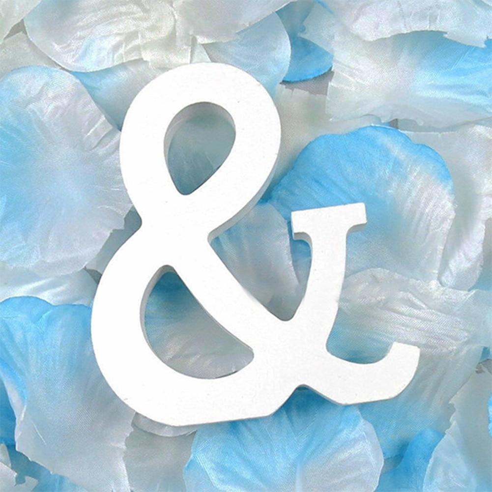 3D деревянные буквы letras decorativas персонализированное Имя Дизайн Искусство ремесло деревянные украшения letras de madera houten буквы - Цвет: And