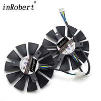 85MM Firstd FD7010H12S DC 12V 0 35A 4PIN EBR 40mm Cooler Fan For ASUS Strix GTX