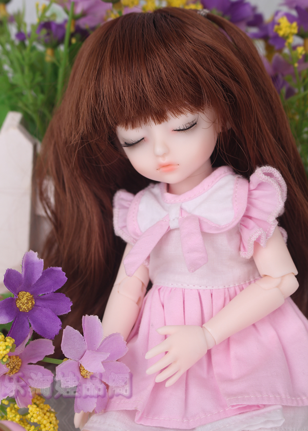 1/6 scale BJD Sweet cute kid girl hani sleepy eyes BJD/SD lovely Resin figure doll DIY Model Toys.Not included Clothes,shoes,wig