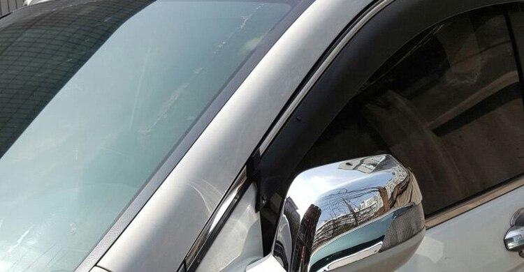 SHENYI Poign/ée de Porte for Honda CRV CRV 2007 2008 2009 2010 2011 Luxuriou poign/ée de Porte chrom/ée for Garniture Set Catch Car Styling Autocollants Accessoires Color Name : Handle 4 Door