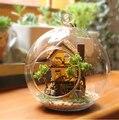 Diy Handmade Mini Toy modelo Doll House vidro mármores Doll House com luz Kit modelo de casa em miniatura - floresta Dream Island