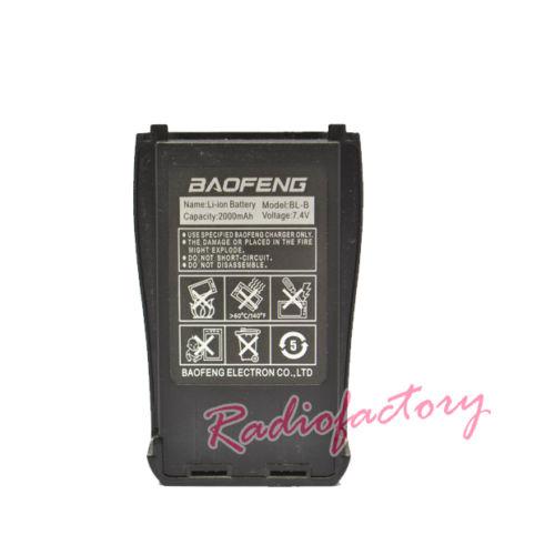 Esclusivamente Nuovo Originale Baofeng Accessori Per UV-B5/UV-B6 Walkie Talkie Baofeng Batteria BL-B 7.4 V 2000 mAh Li-Ion