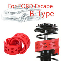 1pair Front Shock SEBS Size-B Bumper Power Cushion Absorber Spring Buffer For Ford Escape