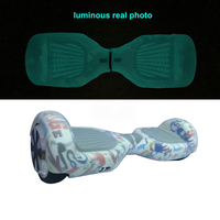Hover Board Luminous Silicone Case Protector For 6 5 Oxboard 2 Wheels Self Balance Electric Scooter