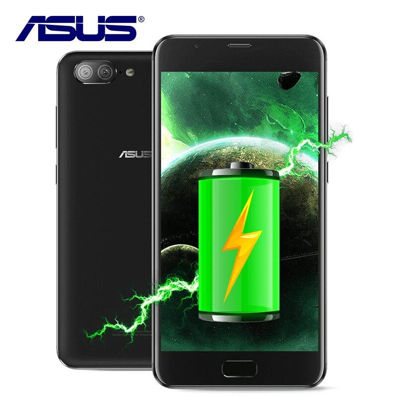 Nuevo Original ASUS Zenfone 4 X015D Octa Core 5000 mAh Dual volver cámaras MT6750 Android 7,0 3 GB RAM 32 GB ROM 5,5 pulgadas teléfono móvil