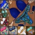 P&j Sexy Push Up Bikini Swimwear Female Ladies Floral Print Brazilian Halter Swimsuit Beach Bathing Suit Biquini Maillot De Bain