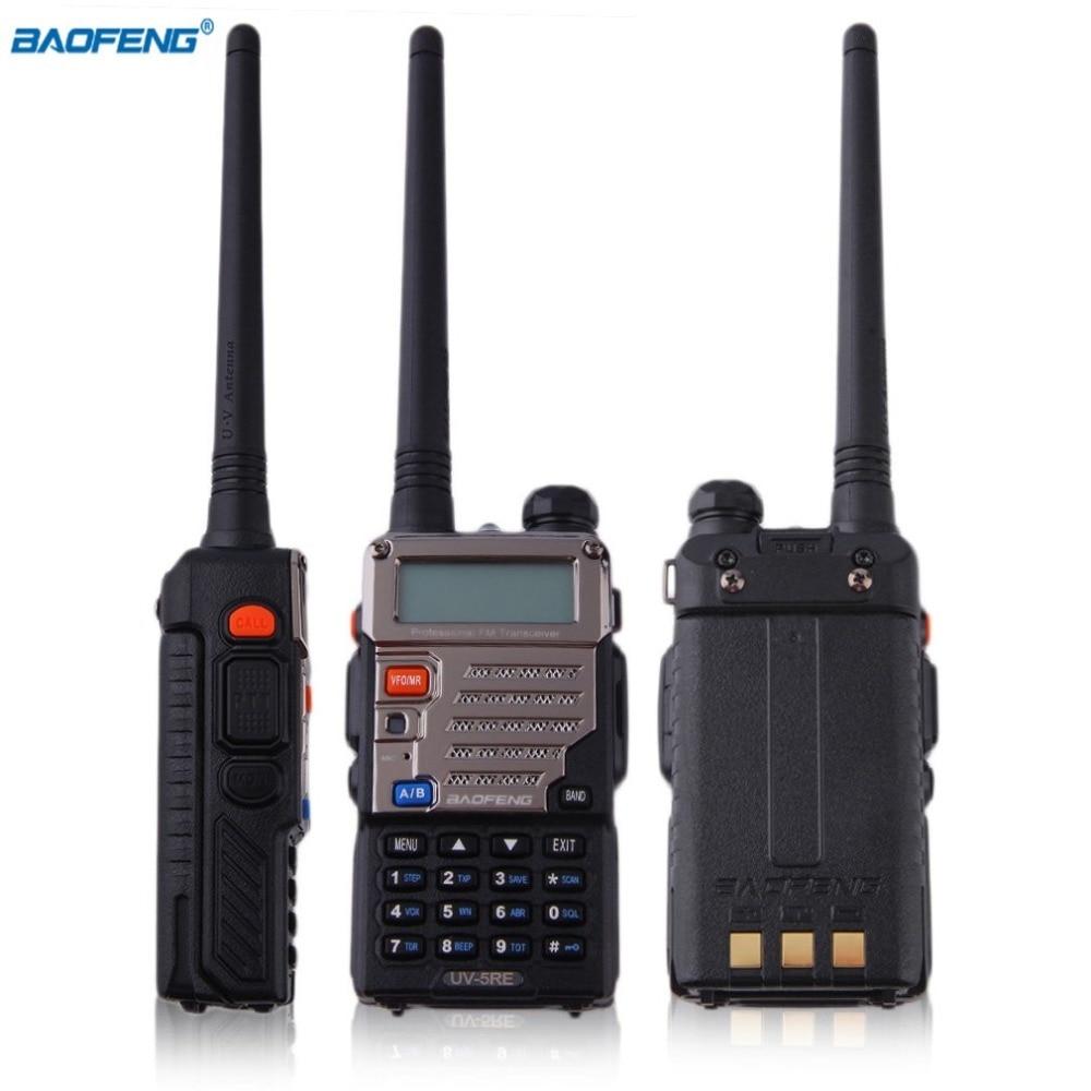 Baofeng Talkie Walkie 5 w 128CH FM VOX DTMF Radio Bidirectionnelle Haute/Basse RF LCD Affichage