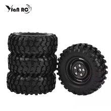4pcs 1.9 Tires 96mm Wheel 12mm Hex Hub For RC 1:10 Rock Climbing Crawler Car Tamiya HSP HPI AXIAL SCX10 Exceed Free Shipping