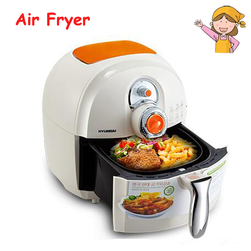 купить Household Air Fryer 220V Electric Deep Fryer Large Capacity French Fries Making Machine Multi-functional Cooker DF-1500 онлайн