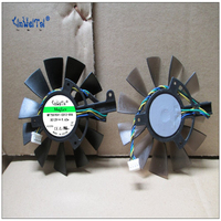 Fan For FS1290 AP084C 12V T129215SU 4Pin Cooling Fan Replace For ASUS GTX 460 HD 6790