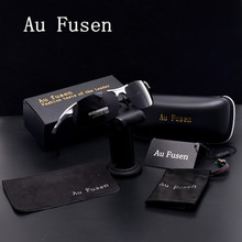 AuFusen Brand designer Polarized Sunglasses classic Luxury vintage Aluminum-magnesium alloy frame men Leisure Driving Eyewear
