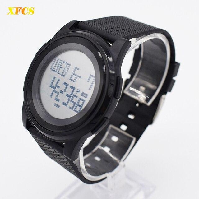 1ac52314285c Xfcs impermeable muñeca relojes digitales para hombres digitais reloj  corriendo mens hombre Reloj simple Relogio masculino
