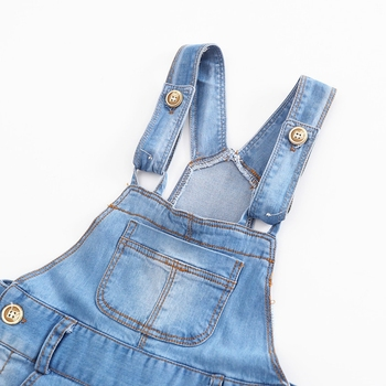 Chumhey 9M-4T Baby Rompers summer Boys Girls Shorts Jeans Babe Overalls Infant Clothes Kids Jumpsuit Child Clothing 12 M 2 Years 3