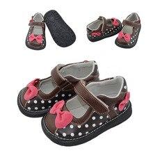 2017 новый милый галстук-бабочка принцесса обувь девочек обувь из натуральной кожи мягкой подошвой дети обувь одного моды летние детские сандалии
