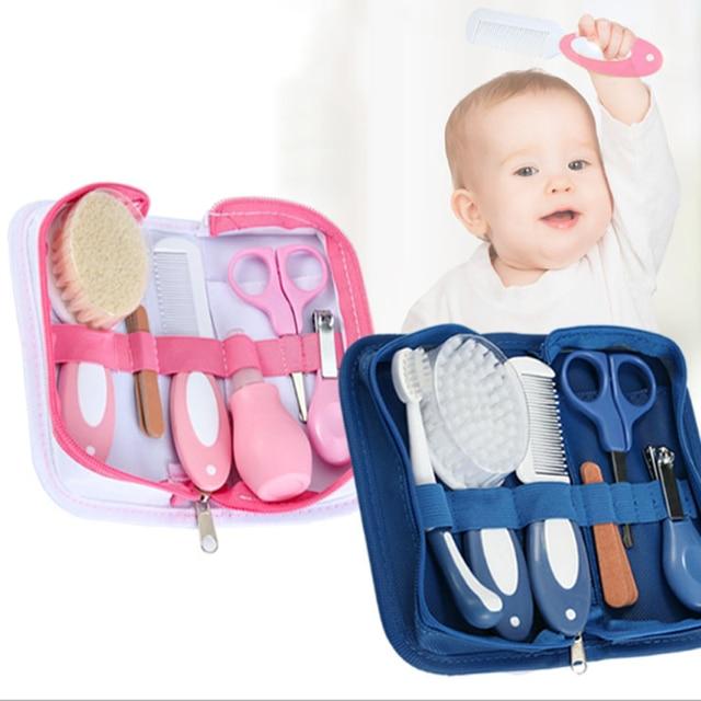 Baby Health Care Kit Comb Brush Set Newborn Daily Care Set Newborn Baby Care Tools Newborn Grooming Brush Kit Baby Care