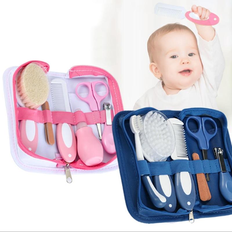 Multifunction Baby Healthcare Thermometer Hygiene Grooming Brush Newborn Kid Kit Nail Trimmer Toddler Scissor Toiletries Set