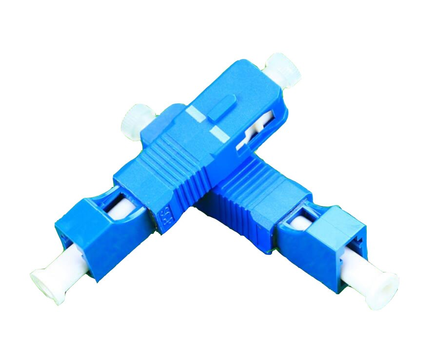 Image 3 - QIALAN LC Female to SC Male Simplex Singlemode Fiber Optic Adapter-in Fiber Optic Equipments from Cellphones & Telecommunications