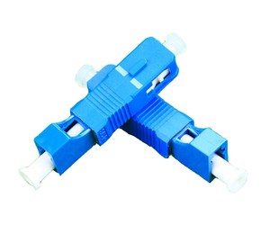 Image 3 - QIALAN LC Feminino para Masculino SC Simplex Adaptador De Fibra Óptica Monomodo