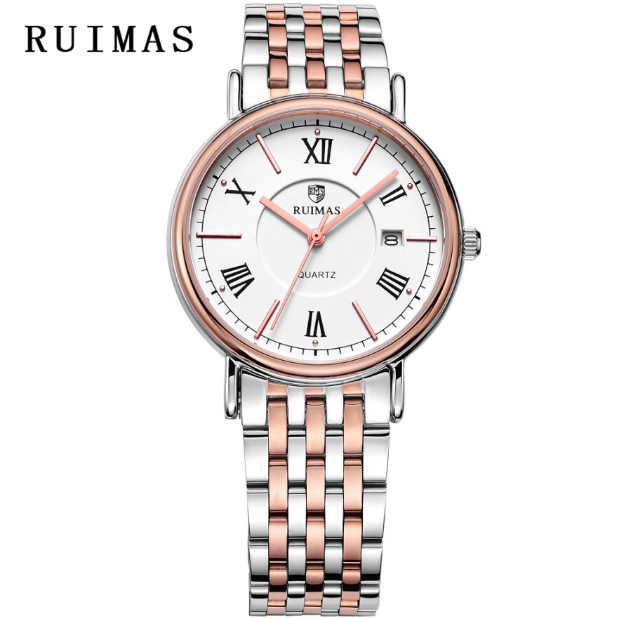 Vestido de caballero de negocios RUIMAS Reloj de cuarzo masculino - Relojes para hombres - foto 3
