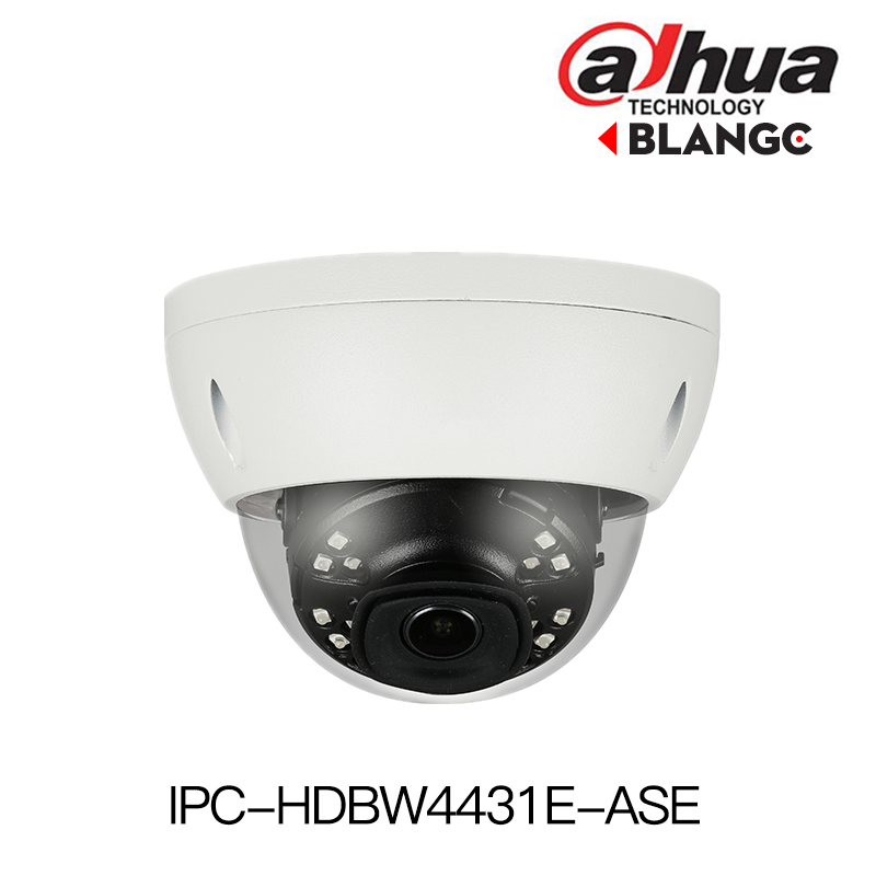 Dahua IPC-HDBW4431E-ASE 4MP IR Mini Dome Network IP Camera Smart Detection 30m IR H.265 Alarm Audio In/out WDR IP67 IK10 PoE in stock english version ds 2cd2142fwd i support h 264 ip66 ik10 poe 4mp wdr fixed dome network camera