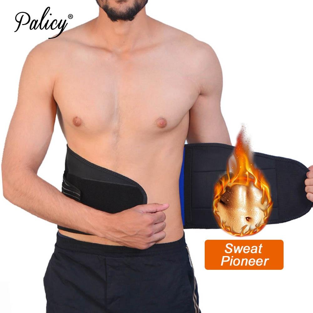 Spandex Wsist Slimming Belt for Men Gym Mens Underwear Bodysuit Shapers Slimming Sweat Belt Waist Cinchers Girdle Man  Plus Size-in Shapers from Underwear & Sleepwears