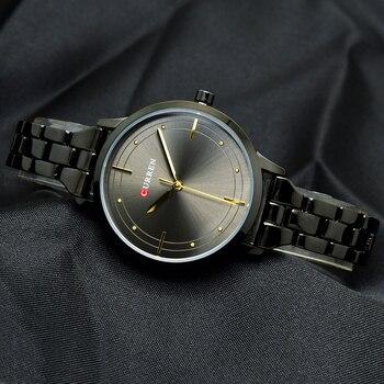 CURREN Simple Black Bracelet Watch Women Wrist Watches Ladies Womens Wristwatch For Female Clock Montre Femme Relogio Feminino дамски часовници розово злато