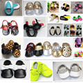 28colors New Genuine leather fringe baby moccasins soft sole moccs booties toddler/infant girls shoes newborn shoes