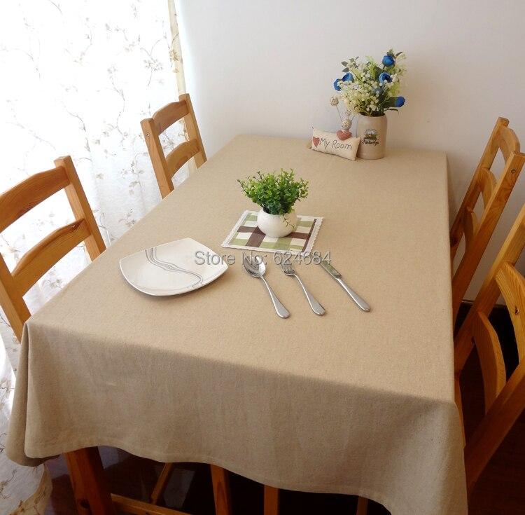 Aliexpress Modern Minimalist Muji Cotton Plain Linen - Coffee Table Cloth CoffeTable
