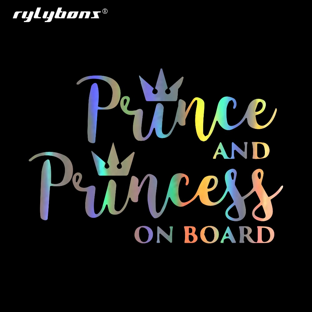 Princess Mia On Board Personalised Girl Car Sign Child Gift 001