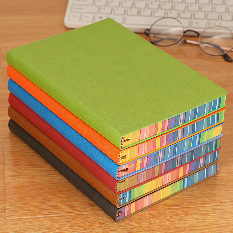 110 Sheets Fashion Rainbow A5 Notebook Creative Office School Tool Supplies For Kids Christmas Birthday Gift Learing Award