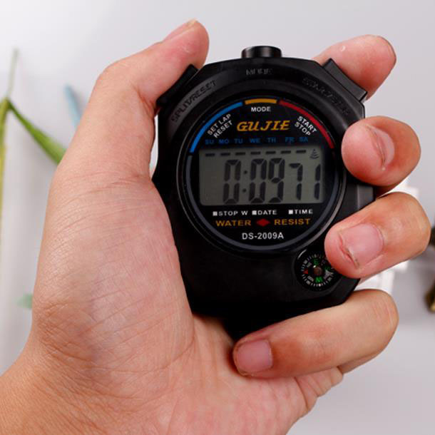 Digital Stopwatch In Hand