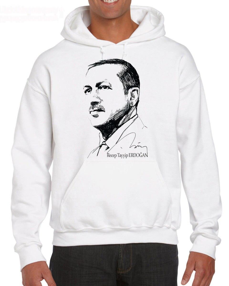 Tayyip Erdogan Druck Baumwolle Obst Der Webstuhl Turkiye Istanbu Hoodies Sweatshirts