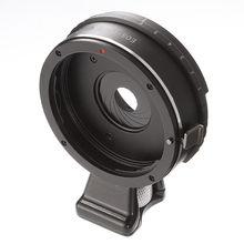 Anillo adaptador de lente de apertura integrada para objetivo Canon EOS EF a M4/3 Micro 4/3 adaptador GH5 GF6 G7 E M5 II E PL1 EM10