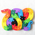 2016 new educational toys brain game kids winding snake wood toys wood kids 3d puzzle wood brinquedo madeira