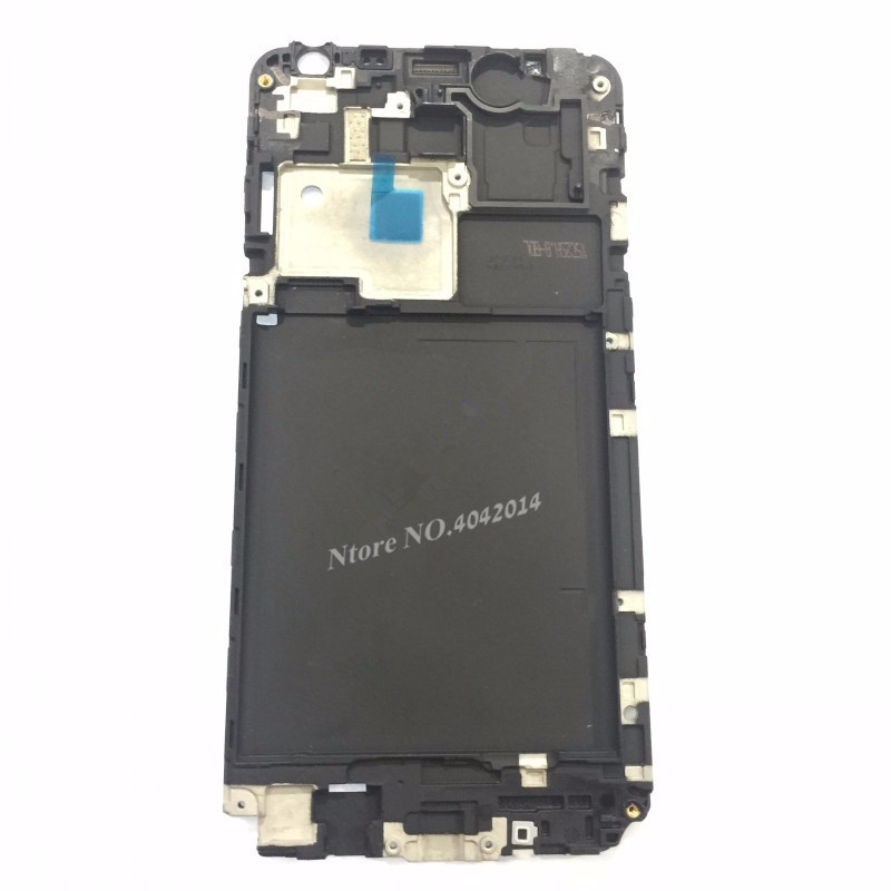 MIXUEWEIQI Black Front LCD Housing Original Middle Faceplate Frame Bezel Replacement Parts For Samsung Galaxy J7 J7008 SM-J700F